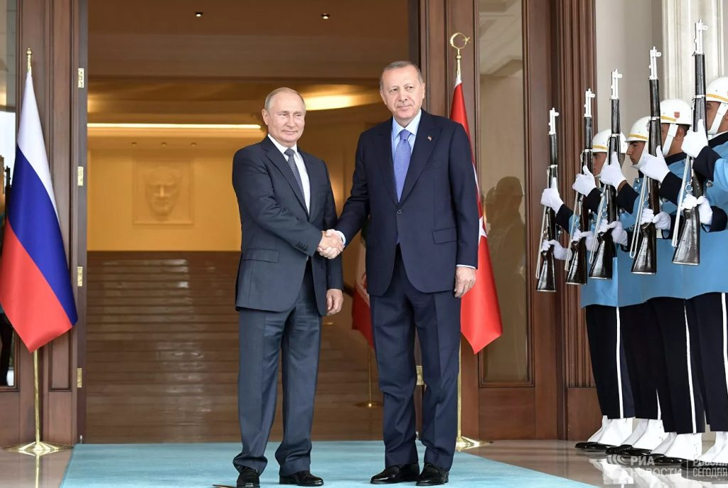 В Сочи проходит встреча Владимира Путина и Реджепа Тайипа Эрдогана