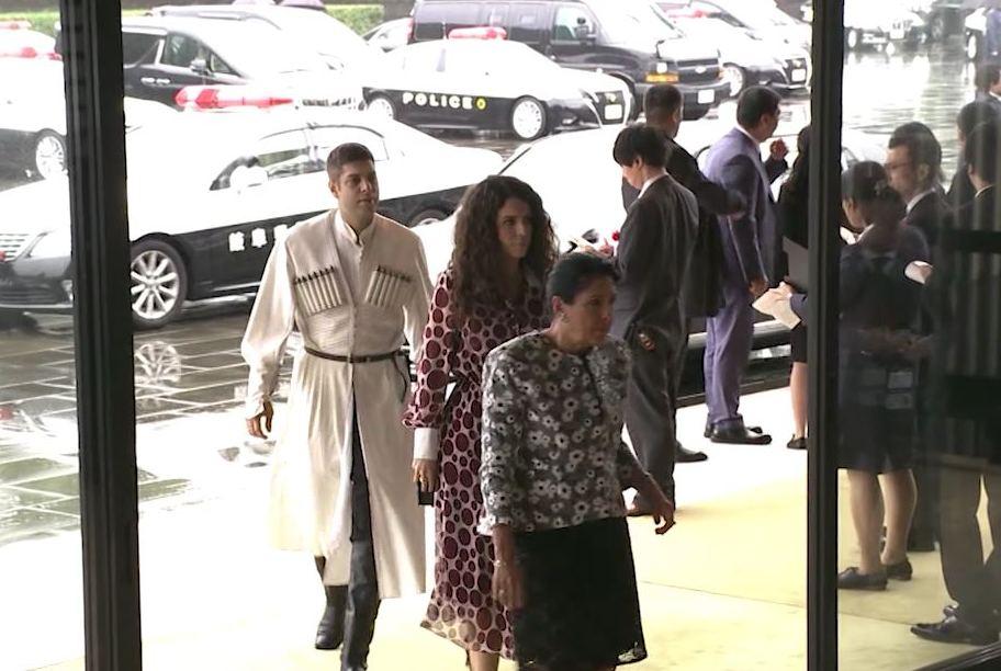სალომე ზურაბიშვილი ტოკიოში იაპონიის იმპერატორის, ნარუჰიტოს ტახტზე ასვლის ცერემონიას დაესწრო
