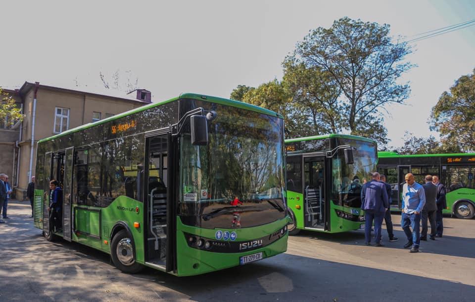 ორხევის მიმართულებით ხუთი ახალი ავტობუსი იმოძრავებს