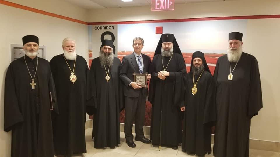 Делегация Грузинской православной церкви провела встречи в Госдепартаменте США