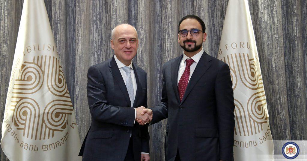 Վրաստանի արտաքին գործերի նախարարը հանդիպել է Հայաստանի փոխվարչապետին