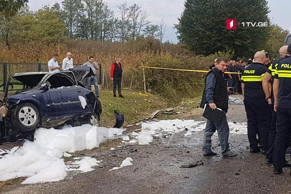 ზუგდიდში ავტოსაგზაო შემთხვევისას ერთი ადამიანი დაიღუპა, სამი კი დაშავდა