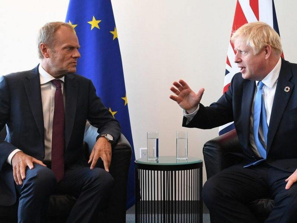 დონალდ ტუსკმა და ბორის ჯონსონმა ბრექსიტის საკითხზე ტელეფონით ისაუბრეს