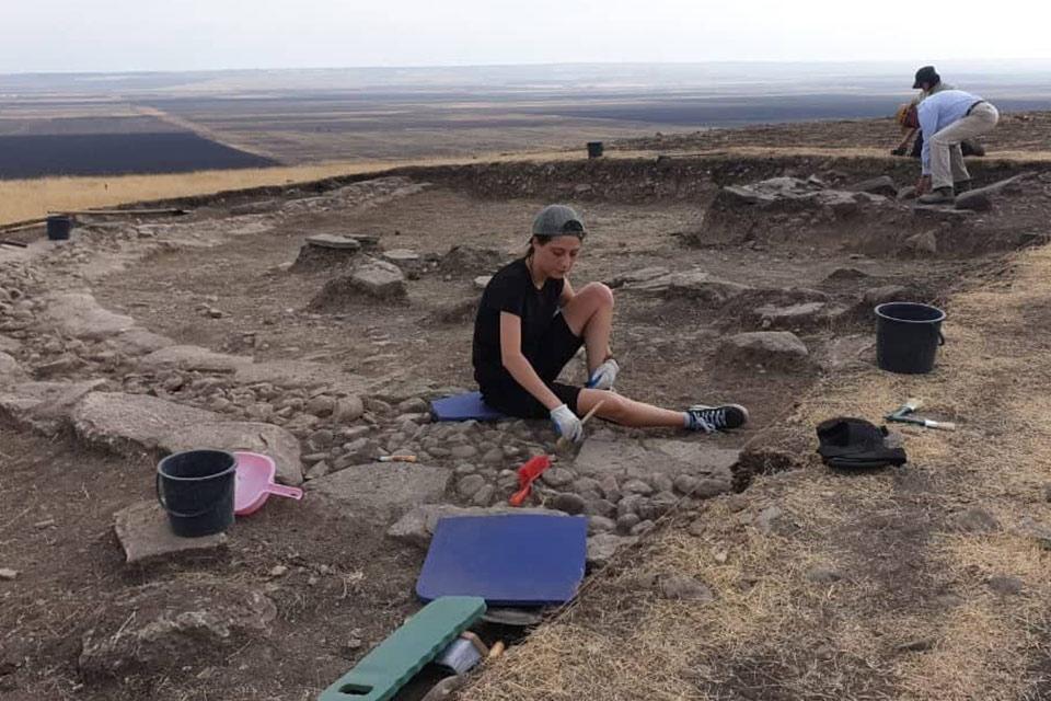 პიკის საათი - სტუდენტები არქეოლოგიაში