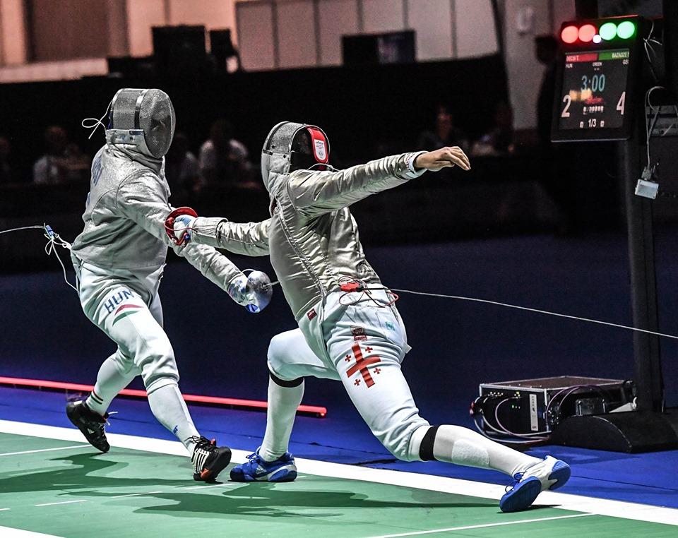 Тбилиси примет Кубок мира по фехтованию на саблях