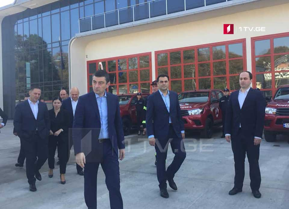 Prime Minister opens new building of Rescue-Firefighting Service in Zugdidi