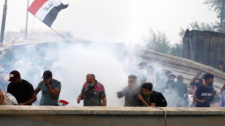 ერაყში გამართული უკანასკნელი დემონსტრაციის დროს 40 ადამიანი დაიღუპა