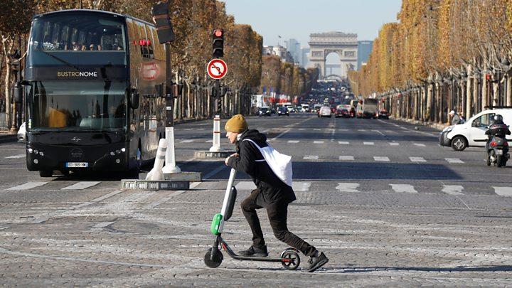 საფრანგეთში ელექტრონული სკუტერებით გადაადგილების წესებს ამკაცრებენ