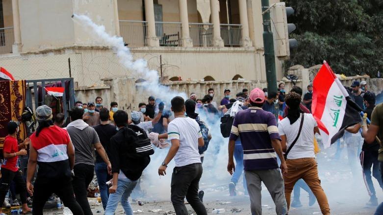 ერაყში მთავრობის საწინააღმდეგო საპროტესტო აქციების დროს, ბოლო სამ დღეში, 74 ადამიანი დაიღუპა