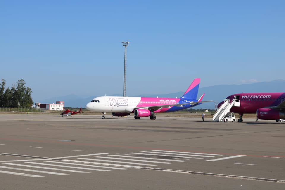 Wizz Air to add two new routes from Kutaisi International Airport