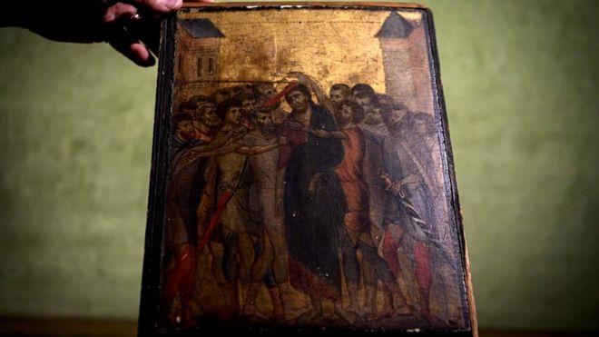 საფრანგეთში, ერთ-ერთ ოჯახში აღმოჩენილი ფლორენციელი ოსტატის,ჩიმაბუეს ნახატი 24 მილიონ ევროდ გაიყიდა