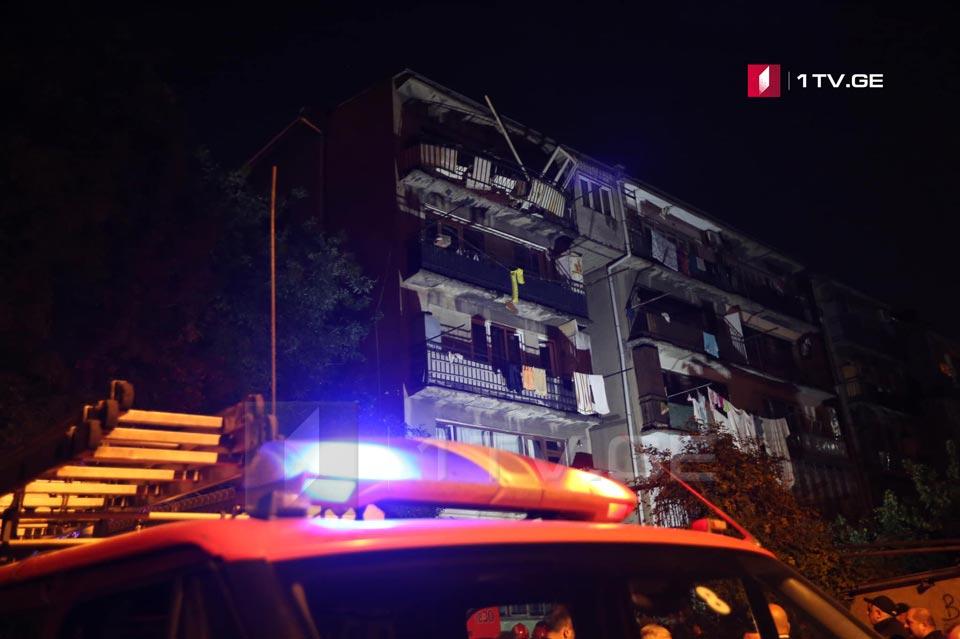 თბილისში, თევდორე მღვდლის ქუჩაზე აფეთქება მოხდა