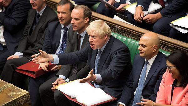 ბრიტანეთის თემთა პალატამ ვადამდელი არჩევნების შესახებ ბორის ჯონსონის შუამდგომლობას მხარი არ დაუჭირა