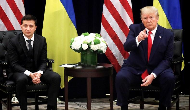 დონალდ ტრამპმა ვლადიმირ ზელენსკი რუსეთის ახალ პრეზიდენტად მოიხსენია