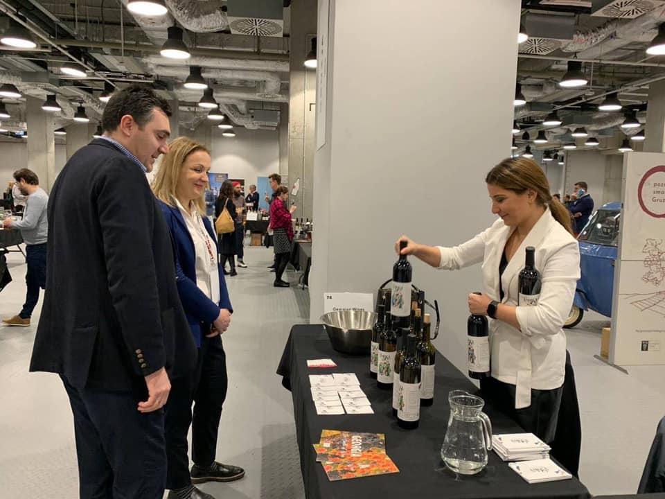 ვარშავაში, საერთაშორისო გამოფენაში ქართული ღვინის მწარმოებელმა 22-მა კომპანიამ მიიღო მონაწილეობა