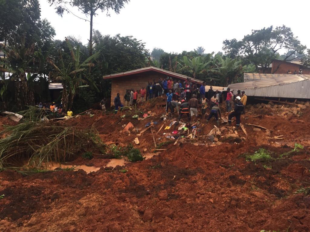 კამერუნში მეწყერის შედეგად 22 ადამიანი გარდაიცვალა
