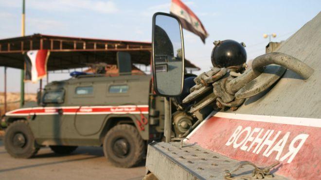 მედიის ცნობით, თურქეთის საზღვართან რუსეთის სამხედრო პოლიციას თურქეთის ძალებმა ცეცხლი გაუხნეს, რუსეთი ინფორმაციას უარყოფს