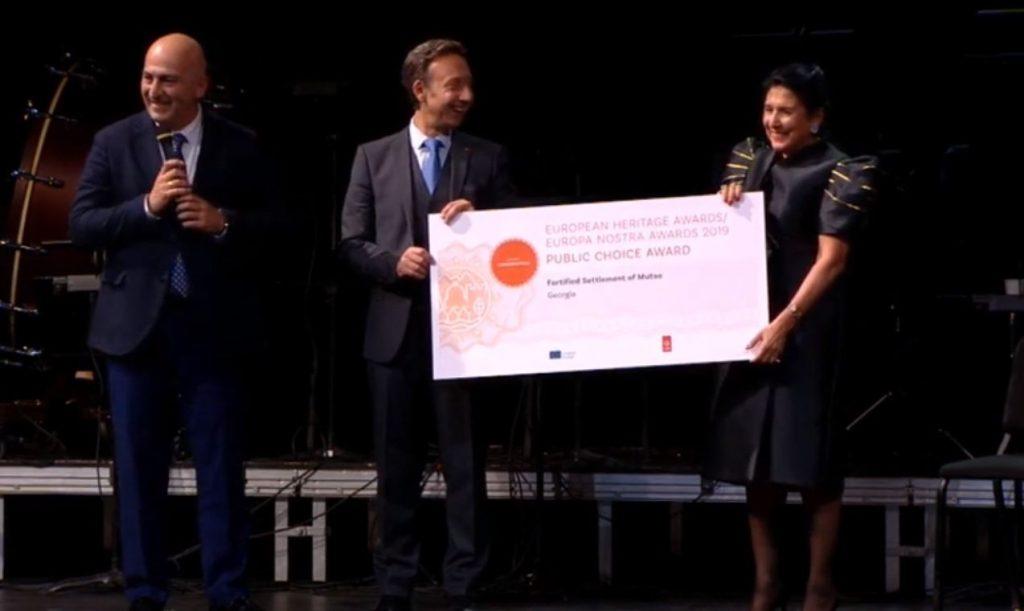 Проект реабилитации Муцо был награжден на Саммите Культурного наследия в Париже [видео]