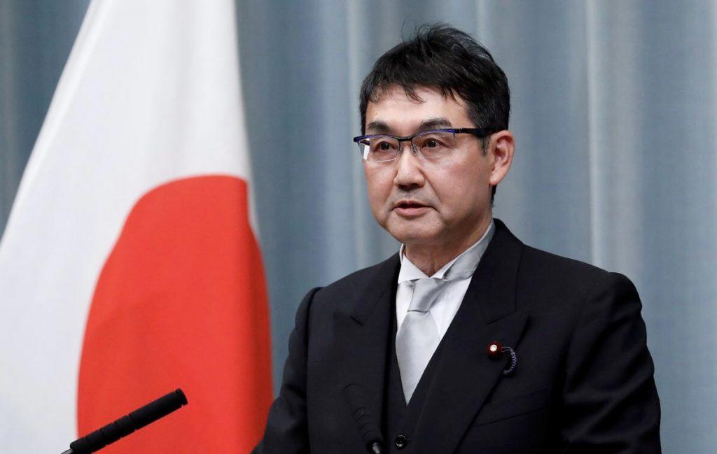 ბოლო ერთი კვირის განმავლობაში იაპონიის ახალი მთავრობის მეორე მინისტრი გადადგა