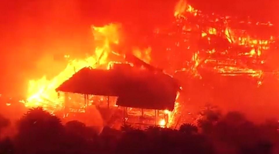 იაპონიაში ხანძარმა იუნესკო-ს ნუსხაში შესული შურის ციხე-სიმაგრის მთავარი ნაგებობები გაანადგურა