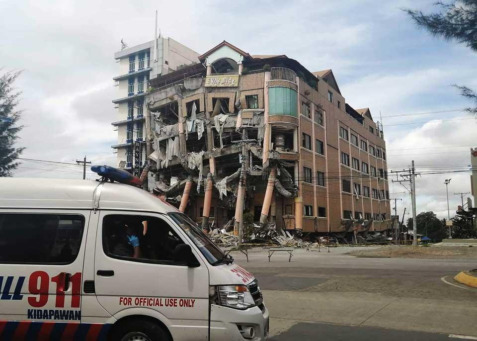 ფილიპინებში მიწისძვრის შედეგად ხუთი ადამიანი დაიღუპა, რვა კი დაშავდა