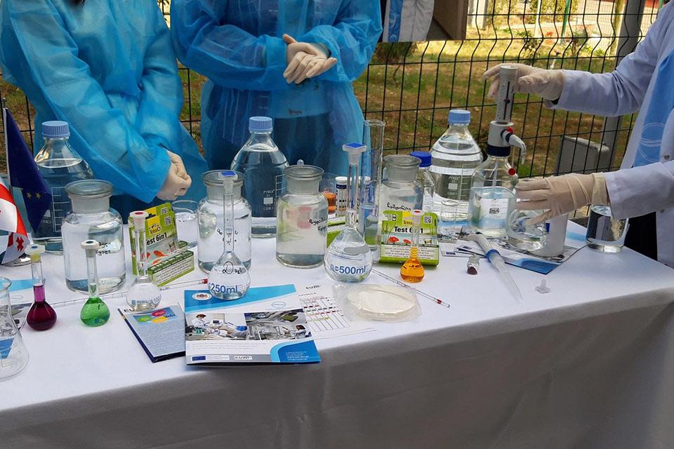 """პიკის საათი - """"აგროპიკი"""" -სუფთა წყალი ჯანსაღი მომავალი"""