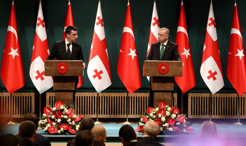 At the invitation of Georgian PM, Recep Tayyip Erdogan will visit Georgia in spring