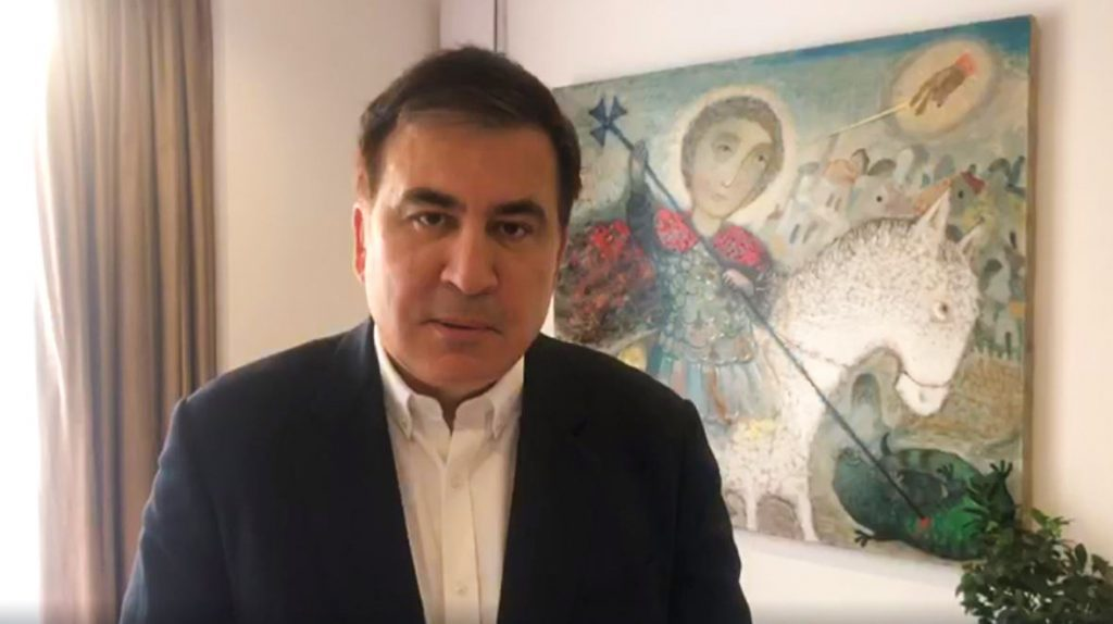 Maxail Saakaşvili - Gürcüstan Kilsəsində inkişaf edən hadisələri böyük ürək ağrısı ilə müşahidə edirəm