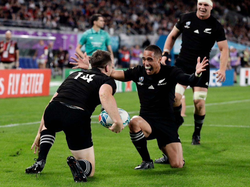 ახალი ზელანდია - უელსი 40:17 | იაპონია 2019