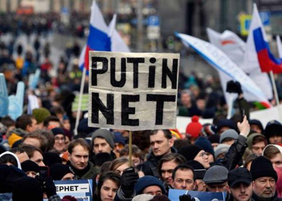 Россия задействовала закон о т.н суверенном интернете