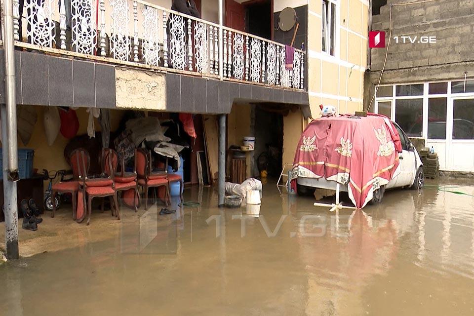 Сильные дожди привели к проблемам в Аджарии