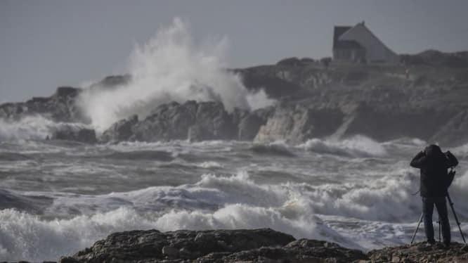 საფრანგეთის სამხრეთ-დასავლეთი რეგიონები ქარიშხალმა დააზარალა