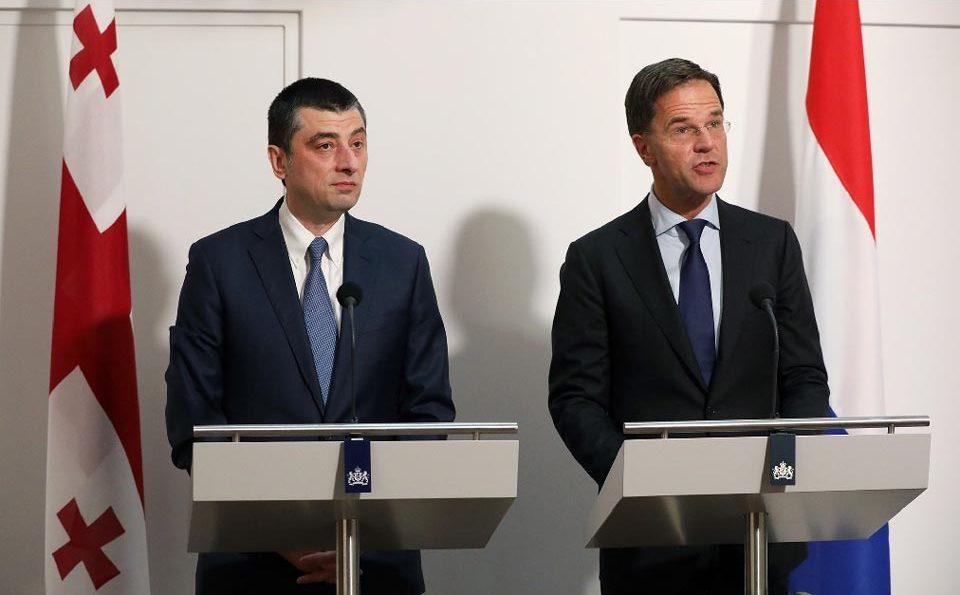 Грузия стала образцовой страной для региона, поэтому является ключевым партнером Нидерландов и ЕС