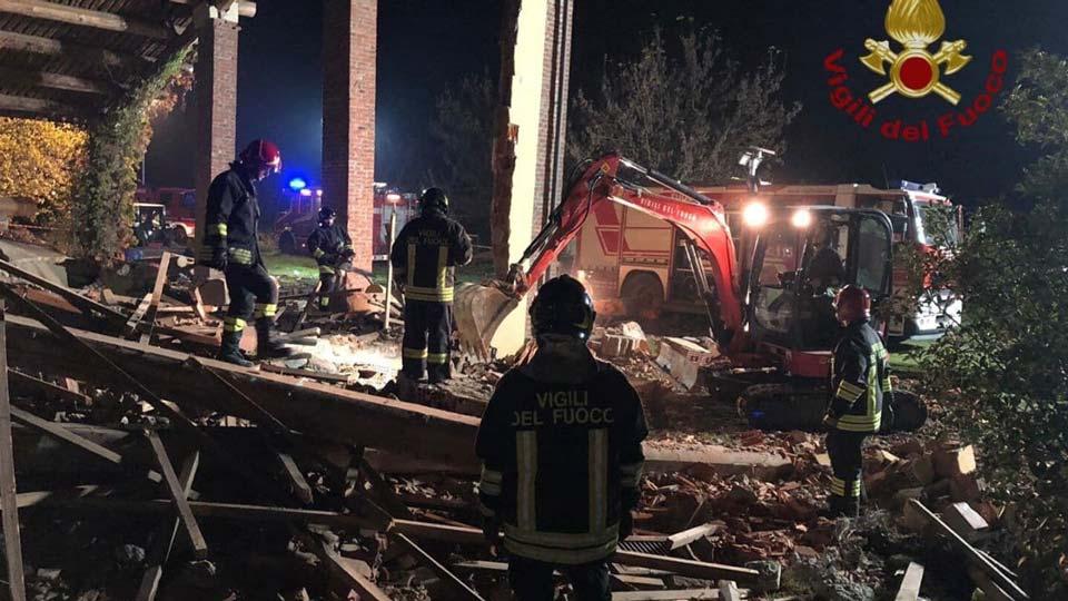 Իտալիայում պայթյունի հետևանքով զոհվել է երեք հրշեջ
