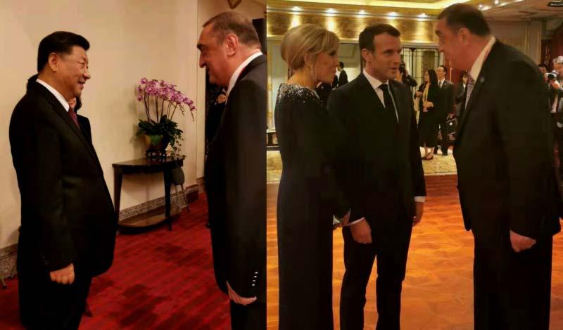 «Գործընկերային հիմնադրամի» լրատվությամբ, Դավիթ Սագանելիձեն Շանհայում գործնական հանդիպումներ է ունեցել Չինաստանի և Ֆրանսիայի նախագահների հետ