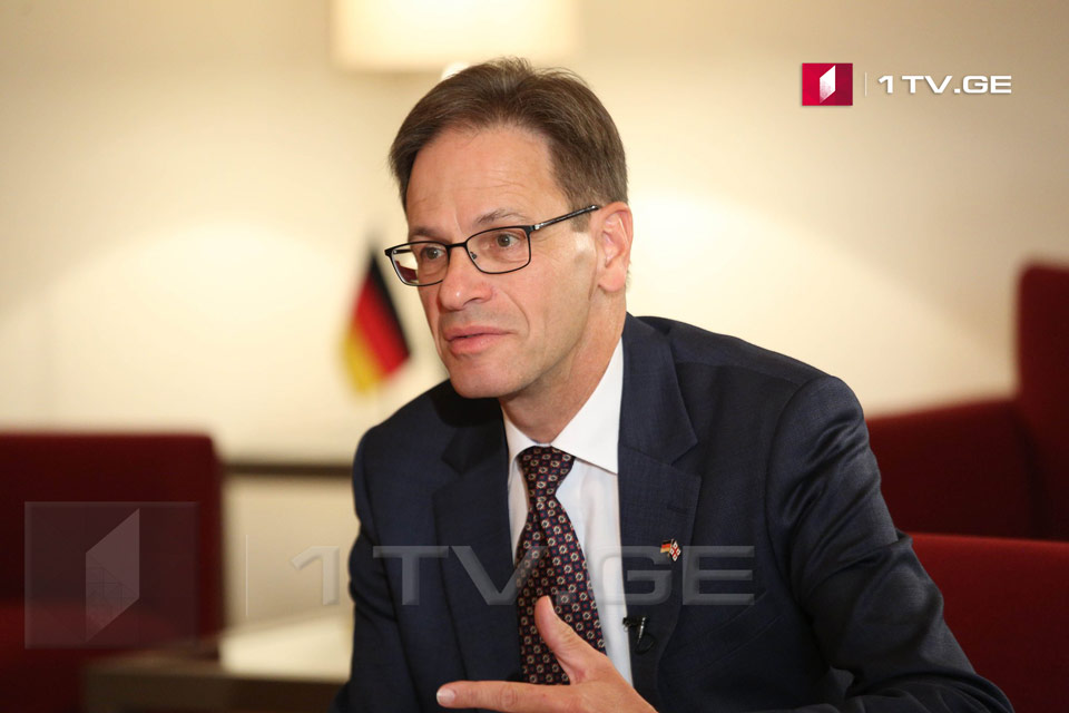 German Ambassador - It would be good for those in charge in Tskhinvali and Moscow to learn the lessons of the Berlin Wall