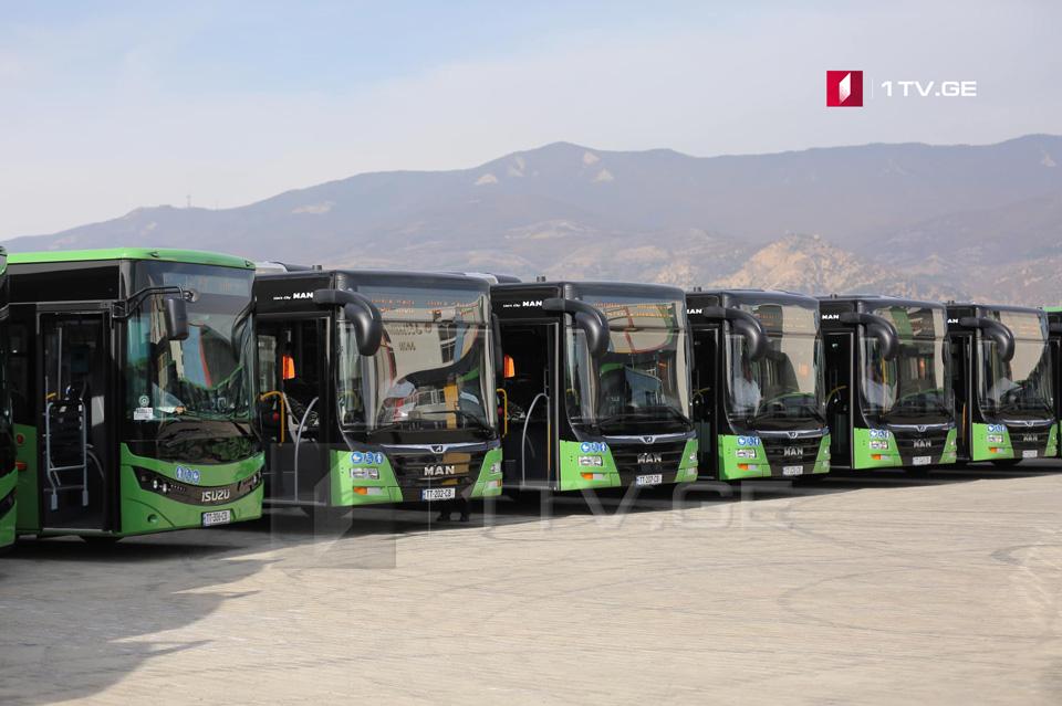 Թբիլիսիում երթևեկելու է «ISUZU» և «MAN» մակնիշի 30 ավտոբուս