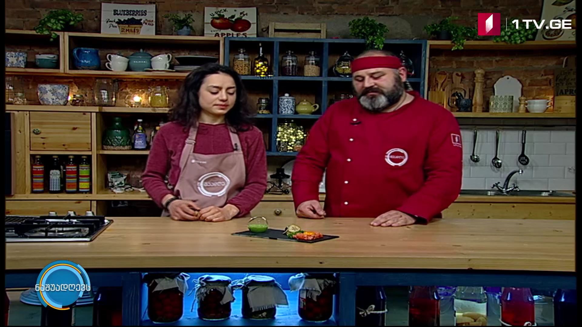 მანჯის სამზარეულო - ორაგულის ტარტარი