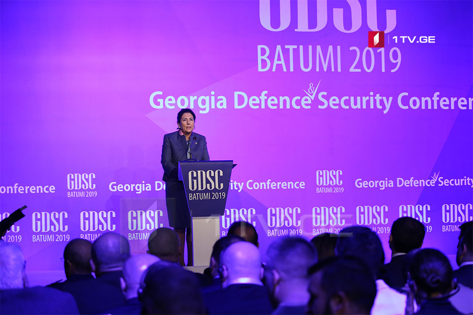 President of Georgia – Security of the Black Sea region is important for partners
