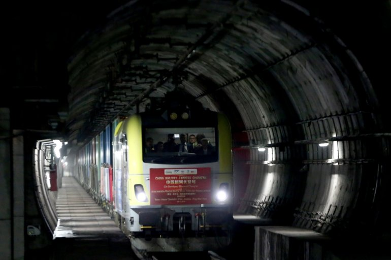 ჩინეთიდან გამოსული სატვირთო მატარებელი, რომელმაც საქართველო უკვე გაიარა, ევროპას უახლოვდება