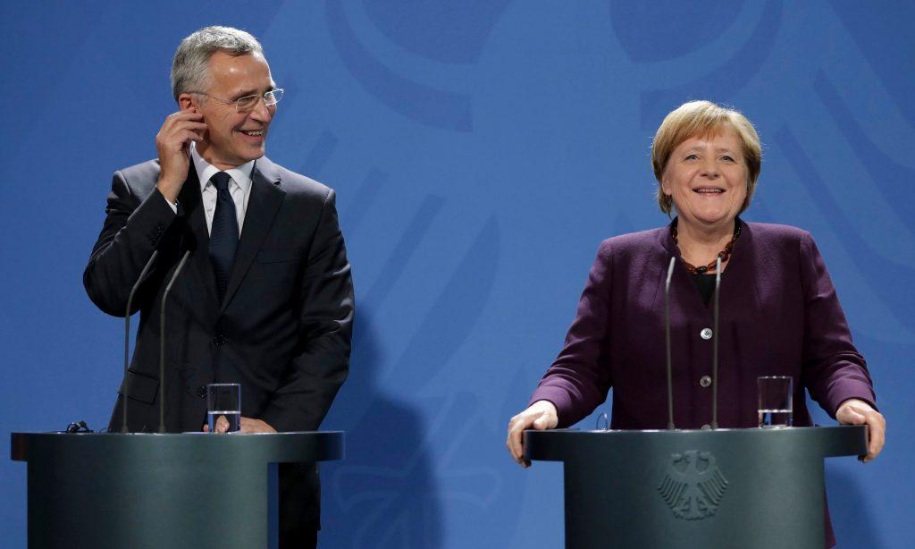 საფრანგეთის პრეზიდენტის განცხადებას ნატო-ს გენმდივანი და გერმანიის კანცლერი არ ეთანხმებიან