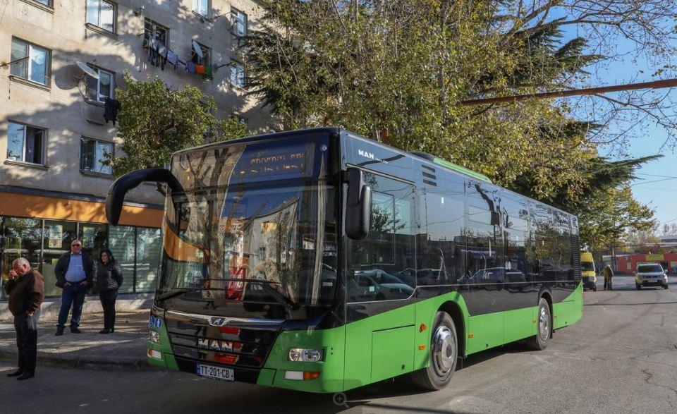 """ლილოს დასახლებაში """"მანის"""" მარკის 10 ახალი ავტობუსი იმოძრავებს"""