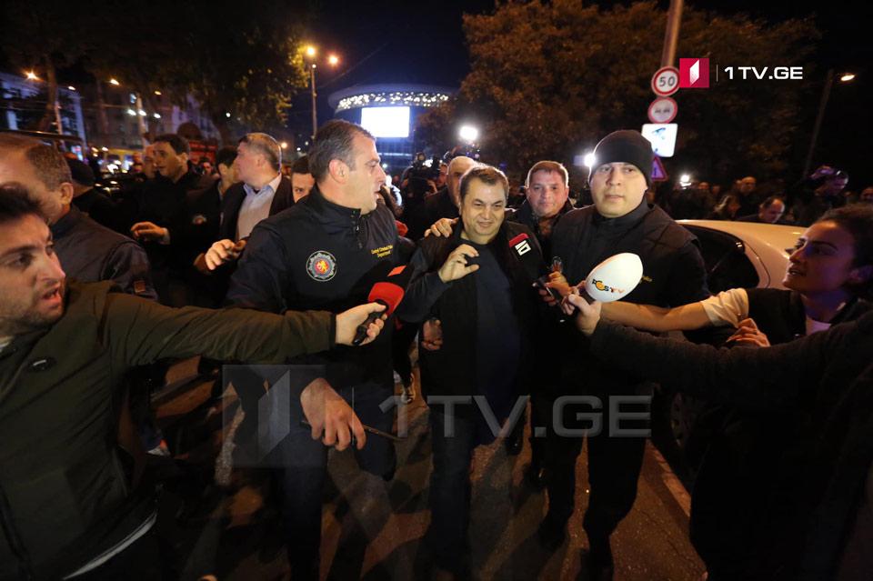 """Давиду Бердзенишвили возле кинотетатра """"Амирани"""" были нанесены физические оскорбления"""