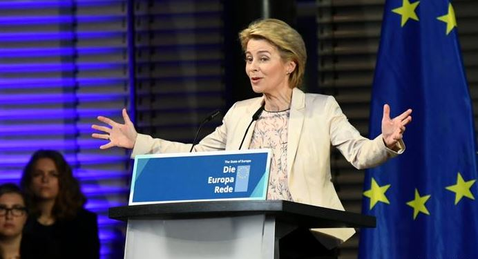 Von der Leyen: 'Europe must learn the language of power'