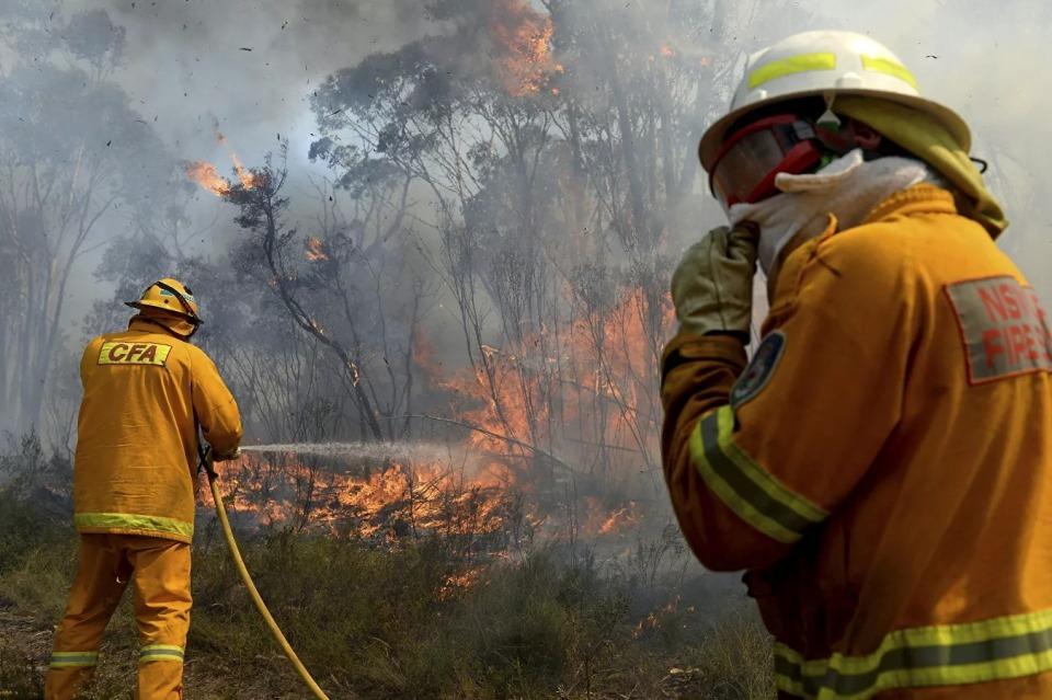 ავსტრალიაში ტყის ხანძრის შედეგად ორი ადამიანი დაიღუპა