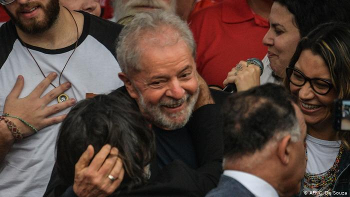ბრაზილიის ყოფილი პრეზიდენტი პატიმრობიდან გაათავისუფლეს