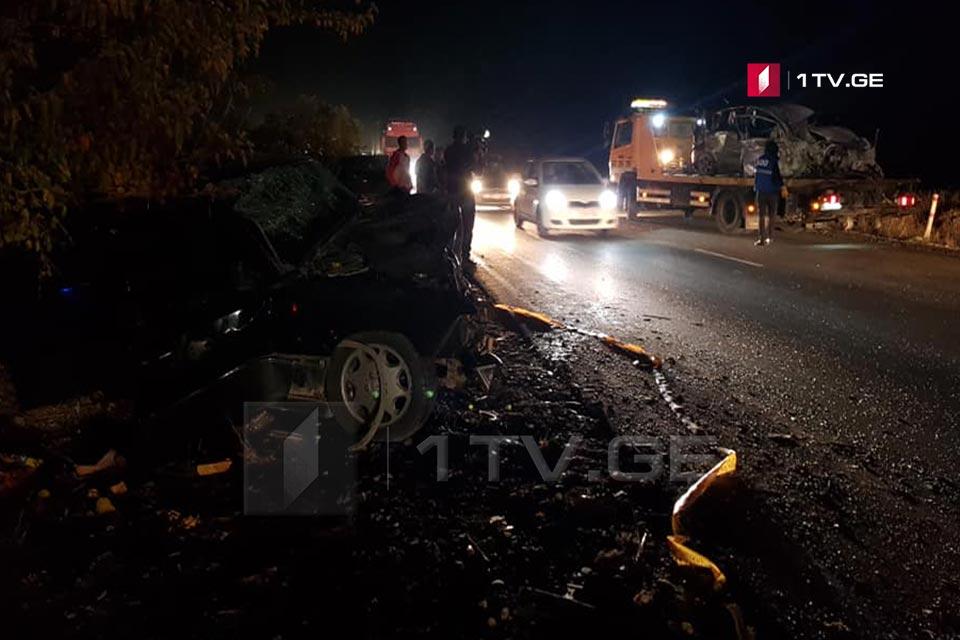 რუსთავი-ლილოს ავტომაგისტრალზე ავარიას ცხრა წლის ბავშვი და შუა ხნის ქალი ემსხვერპლნენ