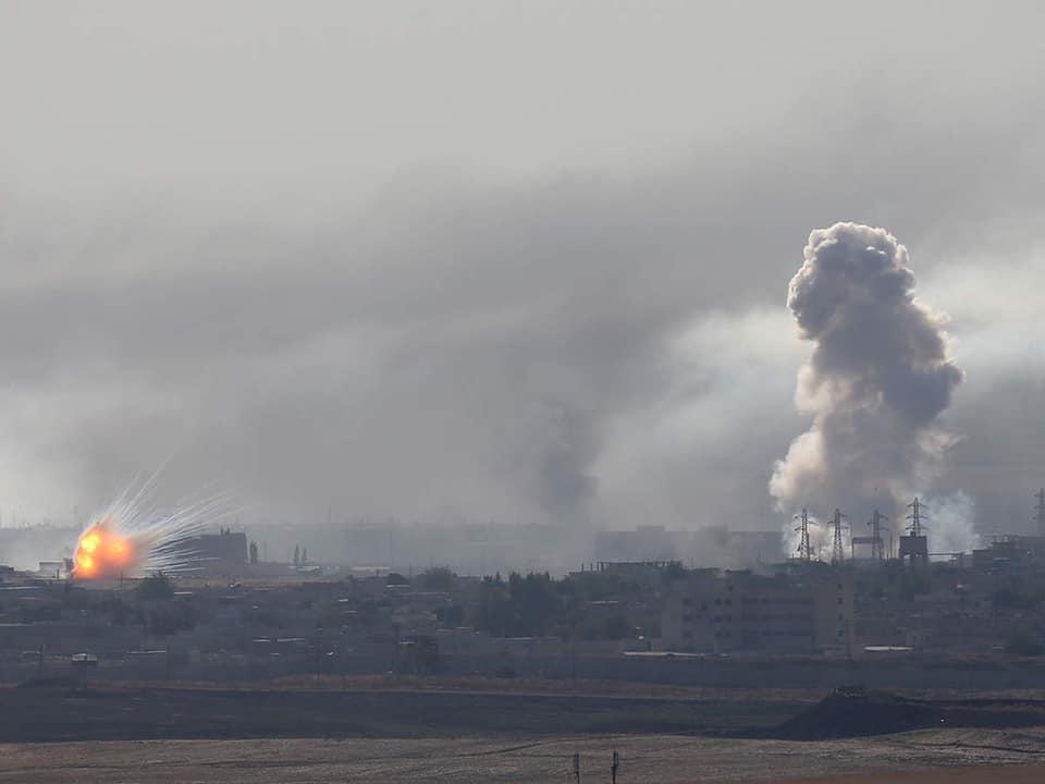 სირიის ჩრდილოეთ რეგიონშიაფეთქების შედეგად რვა ადამიანი დაიღუპა