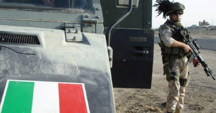 ერაყის ჩრდილოეთით აფეთქების შედეგად ხუთი იტალიელი ჯარისკაცი დაიღუპა
