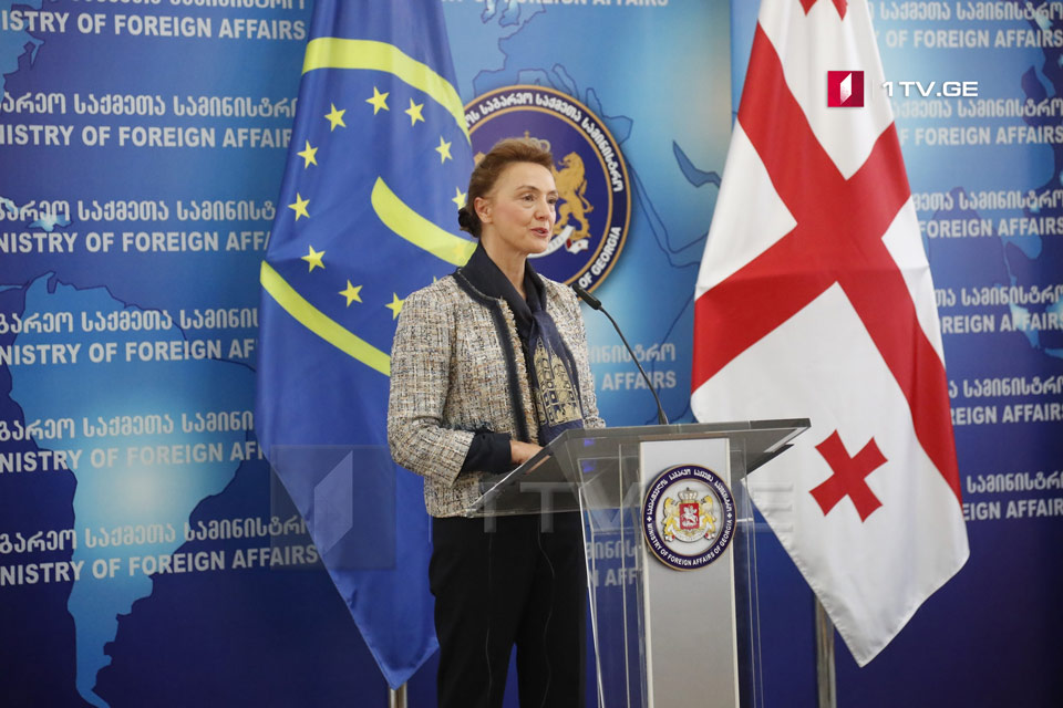 Мария Пейчинович-Бурич - Все идет хорошо, Грузия готовится к выполнению первого важного обязательства, которое предполагает председательство в Совете Европы